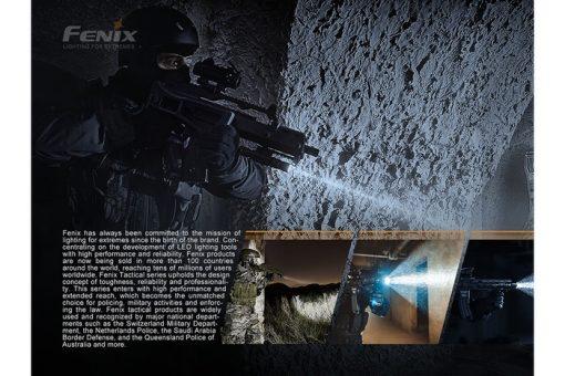 Fenix PD32 V2.0 Compact Flashlight - 1200 Lumens Infographic 4
