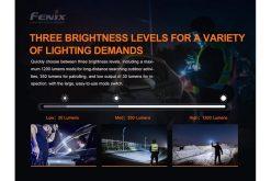 Fenix PD32 V2.0 Compact Flashlight - 1200 Lumens Infographic 8