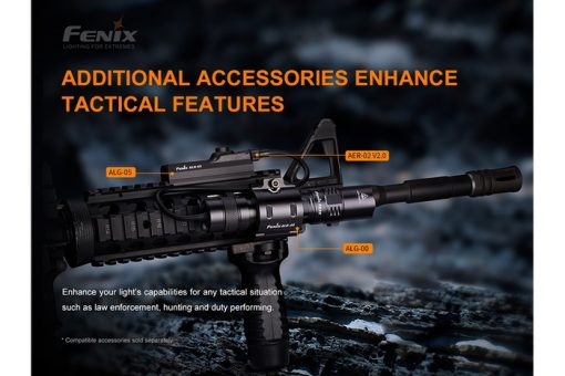 Fenix PD32 V2.0 Compact Flashlight - 1200 Lumens Infographic 11