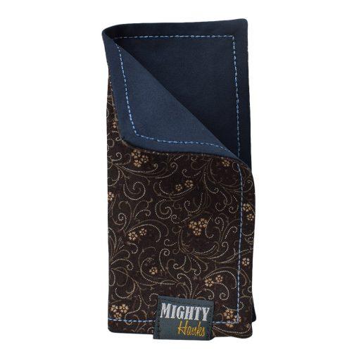 Mighty Hanks Handkerchief Zinnia Mighty Mini with Microfiber Closed