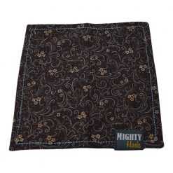 Mighty Hanks Handkerchief Zinnia Mighty Mini with Microfiber Open