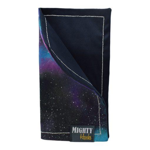 Mighty Hanks Handkerchief Galaxy Mighty Mini with Microfiber Closed