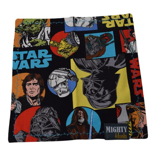 Mighty Hanks Handkerchief The Force Be With you Mighty Mini with Microfiber Open