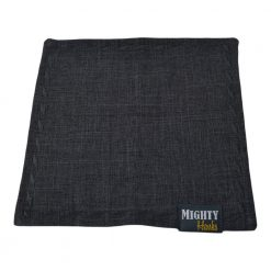 Mighty Hanks Handkerchief Grey Suit Mighty Mini with Microfiber Open