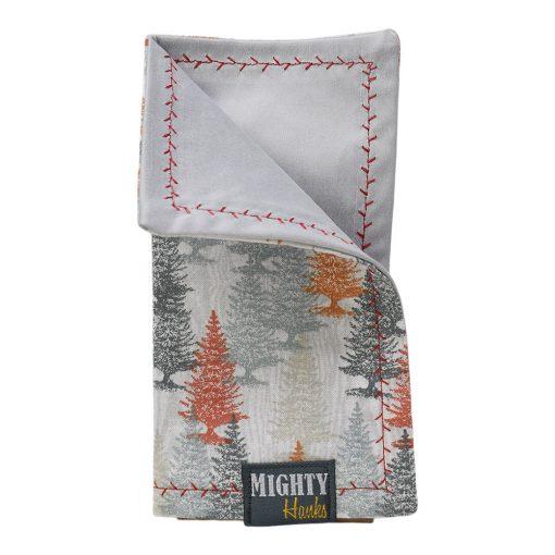 Mighty Hanks Handkerchief Happy Trees Mighty Mini with Microfiber Closed