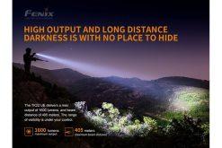 Fenix TK22UE Tactical Flashlight - 1600 Lumens Infographic 11
