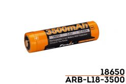 Fenix ARBL18 High-Capacity 18650 Battery - 3500mAh Front With Title