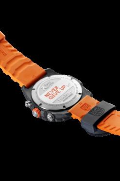 Bear Grylls Survival Chronograph MASTER Series - 3749 Black/Orange Back Side Open