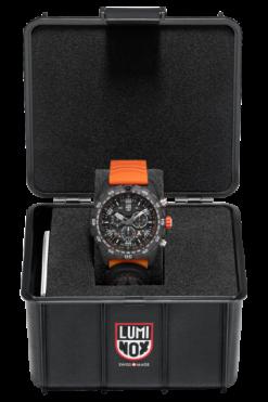 Bear Grylls Survival Chronograph MASTER Series - 3749 Black/Orange Front Side Center Case