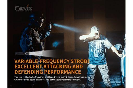 Fenix TK22UE Tactical Flashlight - 1600 Lumens Infographic 13
