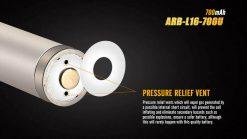 Fenix ARB-L16-700U USB Rechargeable Li-ion 16340 Battery - 700mAh Infographic 5