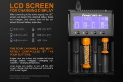 Fenix ARE-A4 Multifunctional Battery Charger Infographic 1