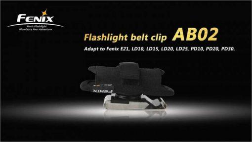 Fenix AB02 Belt Clip Infographic 1