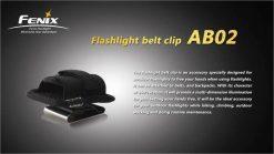 Fenix AB02 Belt Clip Infographic 2
