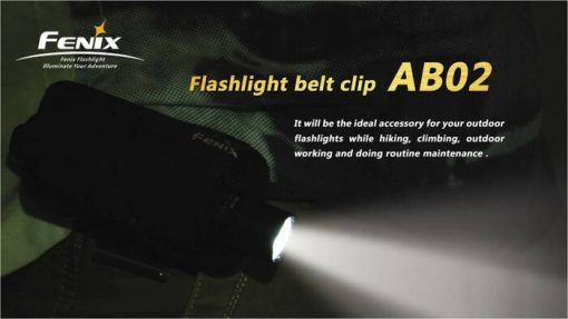 Fenix AB02 Belt Clip Infographic 4