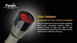 Fenix AD302R TK-Series Red Filter Adapter Infographic 1