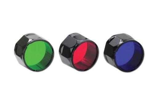 Fenix AOF-SB Blue Filter Adapter Front Side
