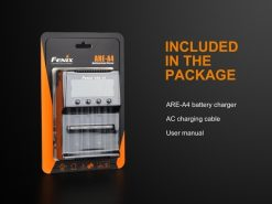 Fenix ARE-A4 Multifunctional Battery Charger Infographic 8