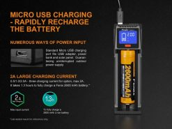 Fenix ARE-D1 Single Channel Smart Battery Charger Infographic 4
