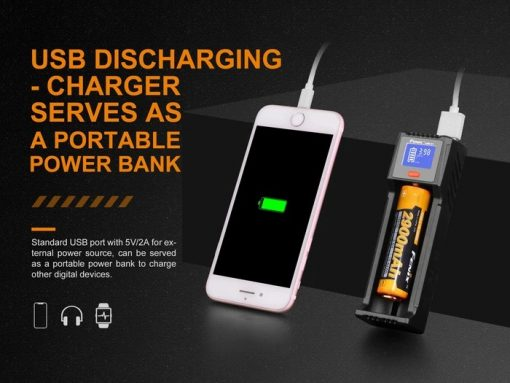 Fenix ARE-D1 Single Channel Smart Battery Charger Infographic 5