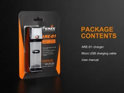Fenix ARE-D1 Single Channel Smart Battery Charger Infographic 9