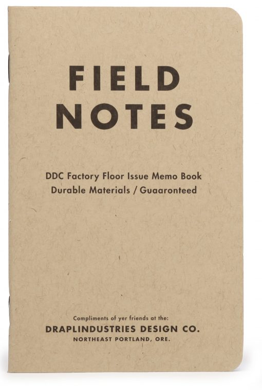 Field Notes Tenth Anniversary Edition Graph Paper Memo Book (32 Pages) Front Side Center 1