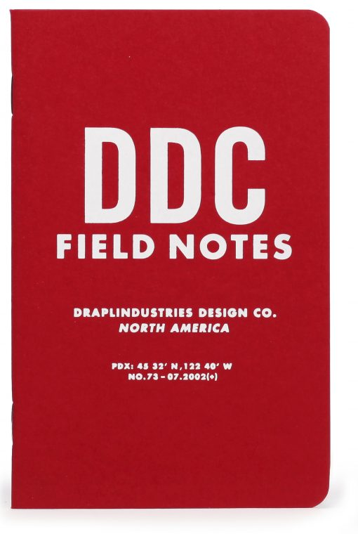 Field Notes Tenth Anniversary Edition Graph Paper Memo Book (32 Pages) Front Side Center 2