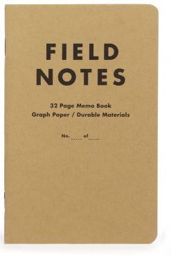 Field Notes Tenth Anniversary Edition Graph Paper Memo Book (32 Pages) Front Side Center 3
