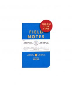 Field Notes County Fair: California 3 Pack - Graph Paper Memo Books (48 Pages) Front Side Center
