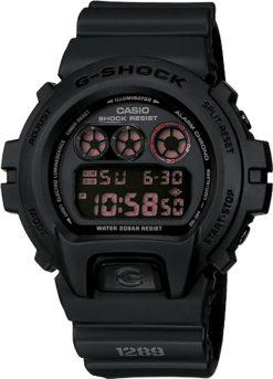 G-Shock Digital Master of G Black DW6900MS-1 Front Side Closed Center Angled
