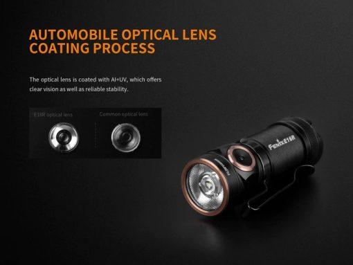 Fenix E18R Rechargeable LED Flashlight - 750 Lumens Infographic 5