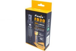 Fenix FD30 LED Focus Flashlight - 900 Lumens Box