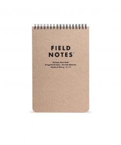 Field Notes Steno Pad Gregg-Ruled (80 Pages) Front Side Center