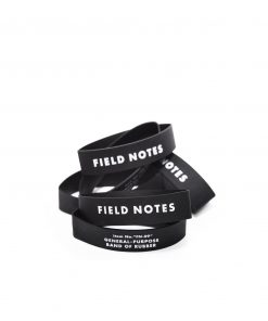Field Notes Rubber Band Stack