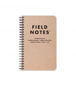 Field Notes 56 Week Planner Front Side Center