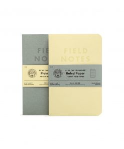 Field Notes Signature Ruled Paper Notebook 2 Pack (72 Pages) Front Side Center