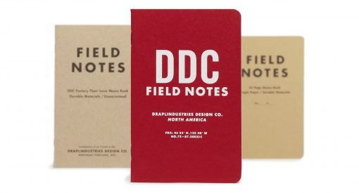 Field Notes Tenth Anniversary Edition Graph Paper Memo Book (32 Pages) Front Side Center All 3