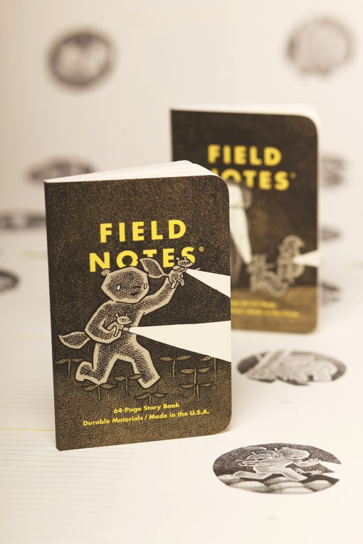 Field Notes Haxley Illustrated Story Book/Sketch Book (64 Pages) Front Side Both