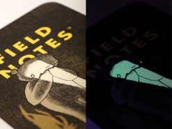 Field Notes Haxley Illustrated Story Book/Sketch Book (64 Pages) Glow In the Dark Side By Side