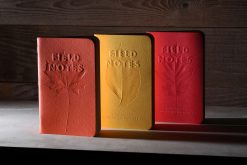 Field Notes Autumn - Ruled Paper Memo Book 3 Pack (48 Pages) Front Side Staggered