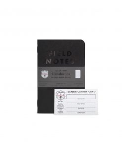 Field Notes Clandestine - Dot Graph Paper Memo Book 3 Pack (48 Pages) Front Side Center