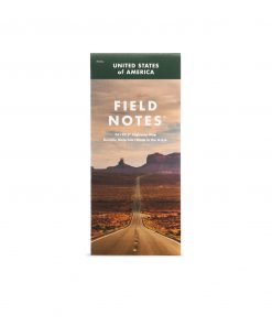Field Notes National Highway Map Front Side Center