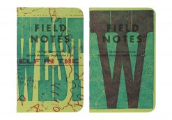 Field Notes United States of Letterpress 3 Pack A - Graph Paper Memo Books (48 Pages) Pair 1