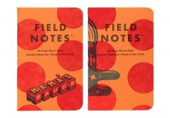 Field Notes United States of Letterpress 3 Pack A - Graph Paper Memo Books (48 Pages) Pair 2