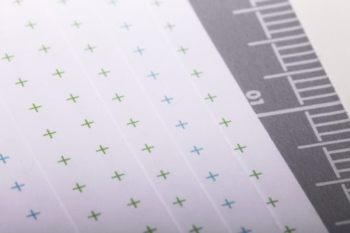 Field Notes Coastal: East - Reticle Grid Paper Memo Book 3 Pack (48 Pages) Page Close Up