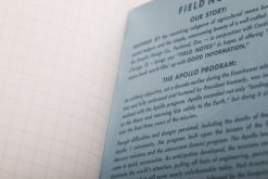 Field Notes Three Missions Graph Paper Memo Book 3 Pack (With Punch-Out Capsule Models) Page Close Up