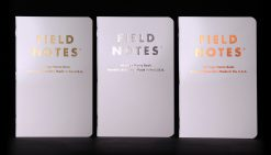 Field Notes Group Eleven - Ruled Paper Memo Book 3 Pack (48 Pages) Front Side All