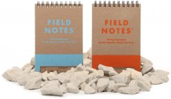 Field Notes Heavy Duty - Ruled/Double Graph Grid Paper Work Book 2 Pack (80 Pages) Front Side Both