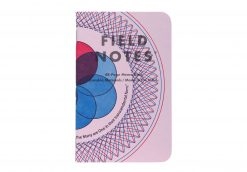 Field Notes United States of Letterpress 3 Pack A - Graph Paper Memo Books (48 Pages) Front Side Single