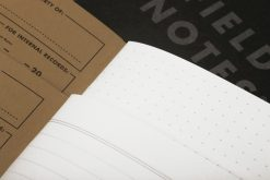 Field Notes Pitch Black Memo Book (48 Pages) Page Close Up